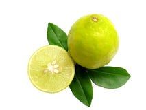 Lemons-Isolated Stock Photos