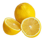 Lemons. Isolated on white background Royalty Free Stock Image
