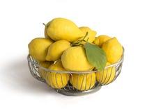 Lemons  isolated on white Stock Image