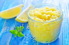 Lemons jam Royalty Free Stock Images