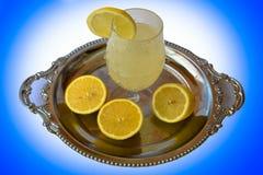 Cut lemon juice Stock Photography