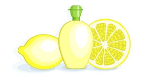 Lemons and Lemon Juice Royalty Free Stock Photography