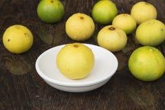 Lemons. Lemon yellow with health benefits Royalty Free Stock Images