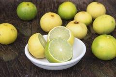 Lemons. Lemon yellow with health benefits Stock Image