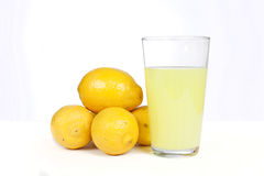 Lemons and lemonade Royalty Free Stock Photography