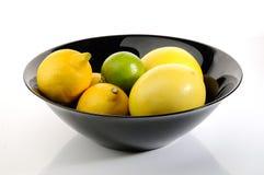 lemons lime Arkivbilder