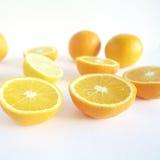 lemons lime 免版税库存照片