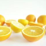 lemons lime 免版税图库摄影