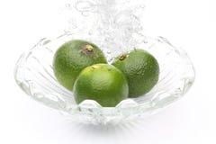 lemons lime 库存图片