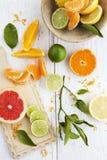 lemons lime Стоковое фото RF