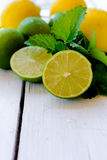 Lemons and lime Stock Images