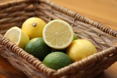 Lemons and Limes Royalty Free Stock Photo