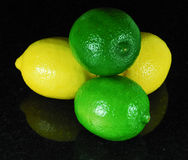 Lemons and Limes Stock Image