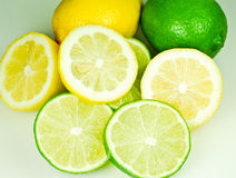 Lemons and Limes. Royalty Free Stock Image