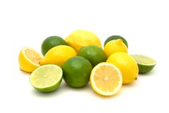 Lemons and Limes Royalty Free Stock Photography