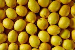 Lemons At Market Royalty Free Stock Photos
