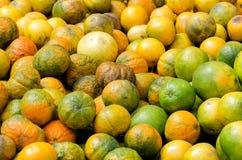 Lemons. On a market in Southamerica stock photo