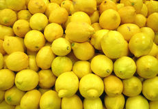 Lemons at the market Stock Photography
