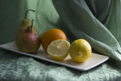 Lemons and other fruits Royalty Free Stock Photo