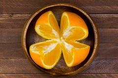 Lemons in plate Royalty Free Stock Photo