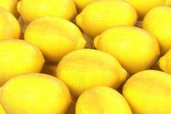 Lemons. Realistic 3d render of lemons Stock Images