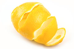 Lemons rind Stock Photography
