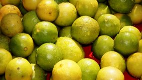 Lemons for Sale Stock Image