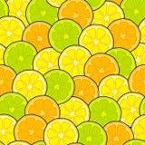 Lemons seamless background Royalty Free Stock Photo