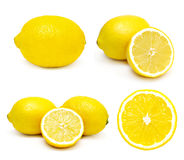 Lemons set Stock Images