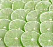 Lemons silice circle use for on  background Royalty Free Stock Photo