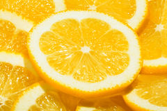 Lemons slices Royalty Free Stock Image