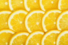 Lemons slices tile Stock Images