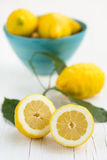 Lemons. From Sorrento, Amalfi coast royalty free stock photos