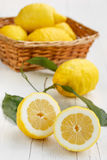 Lemons from Sorrento. Amalfi coast royalty free stock photography