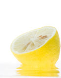 Lemons splash Royalty Free Stock Image