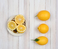 Lemons Still Life Royalty Free Stock Images