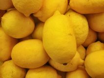 Lemons texture Stock Photography