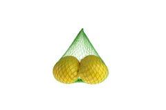 Lemons on white Stock Image