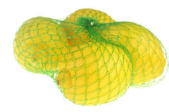 Lemons on white Stock Photography