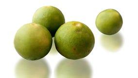 Lemons. 4 lemons are on white background Stock Photo