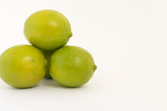 Lemons on white background Stock Image