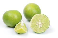Lemons. On the white ground Stock Photos