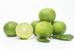 Lemons. On the white ground Stock Image