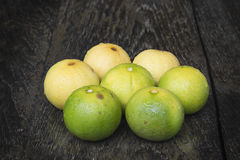 Lemons. Yellow delicious lemon refresh your body Royalty Free Stock Photos