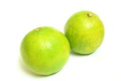 Lemons yellowish green Royalty Free Stock Photo