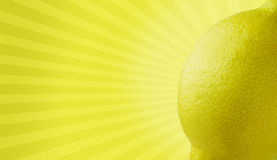 Lemony goodness Royalty Free Stock Image