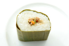 Lemper cake from indonesia Royalty Free Stock Photos