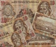 Lempira de Honduras, divisa nacional de Honduras fotografía de archivo