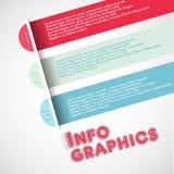 Lemplate degli elementi di Infographic Immagini Stock Libere da Diritti