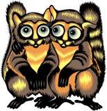 Lemur illustration Stock Photo